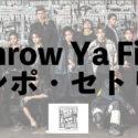 【ランページライブ2/19】Throw Ya Fist(スローヤフィスト)大阪 セトリあり